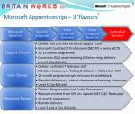 microsoft apprenticeships 3 flavours