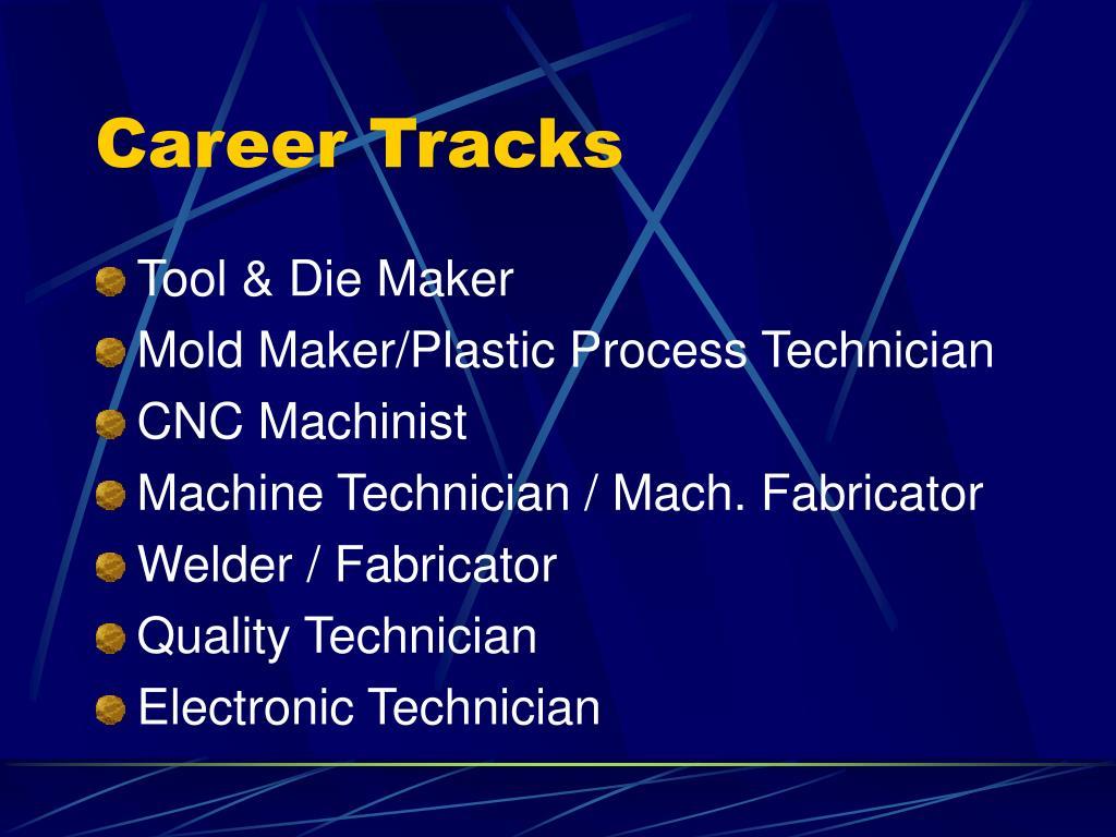 Career Tracks