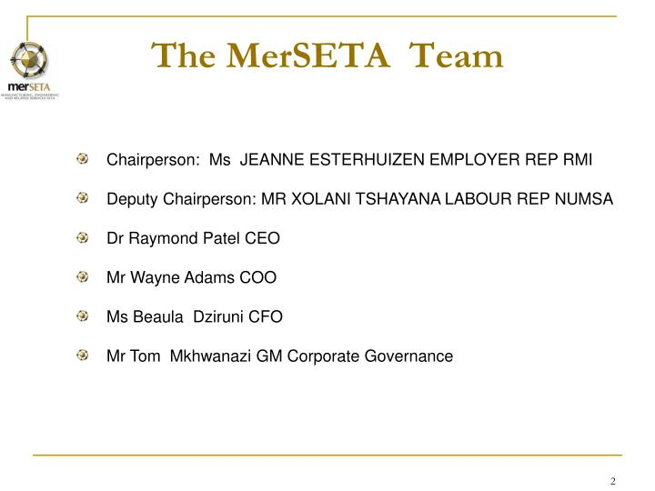 The merseta team
