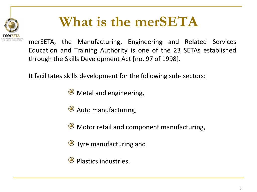 What is the merSETA