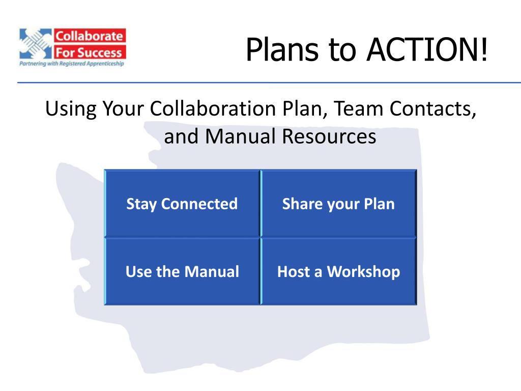 Plans to ACTION!