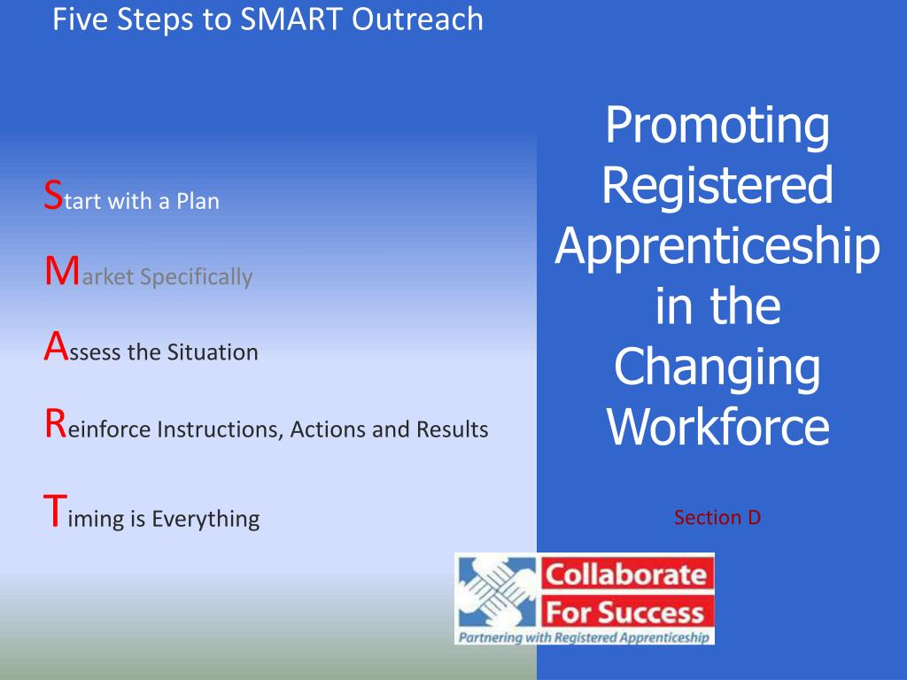 Promoting Registered Apprenticeship