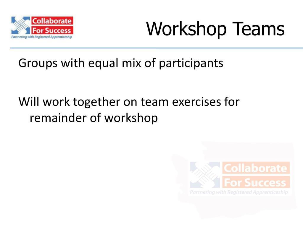 Workshop Teams