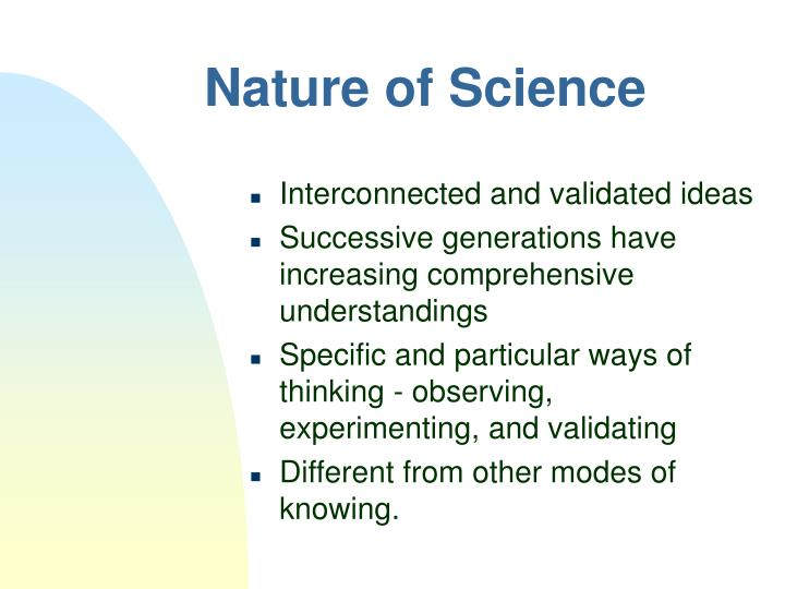 Nature of science2