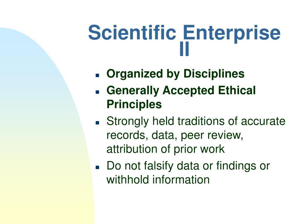 Scientific Enterprise II