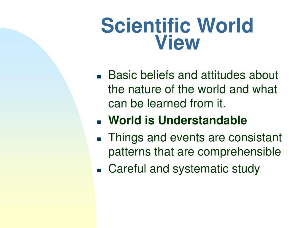 Scientific World View