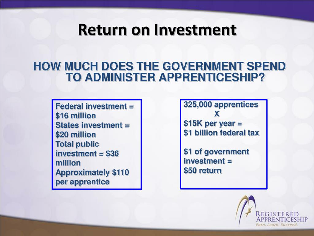 HOW MUCH DOES THE GOVERNMENT SPEND TO ADMINISTER APPRENTICESHIP?