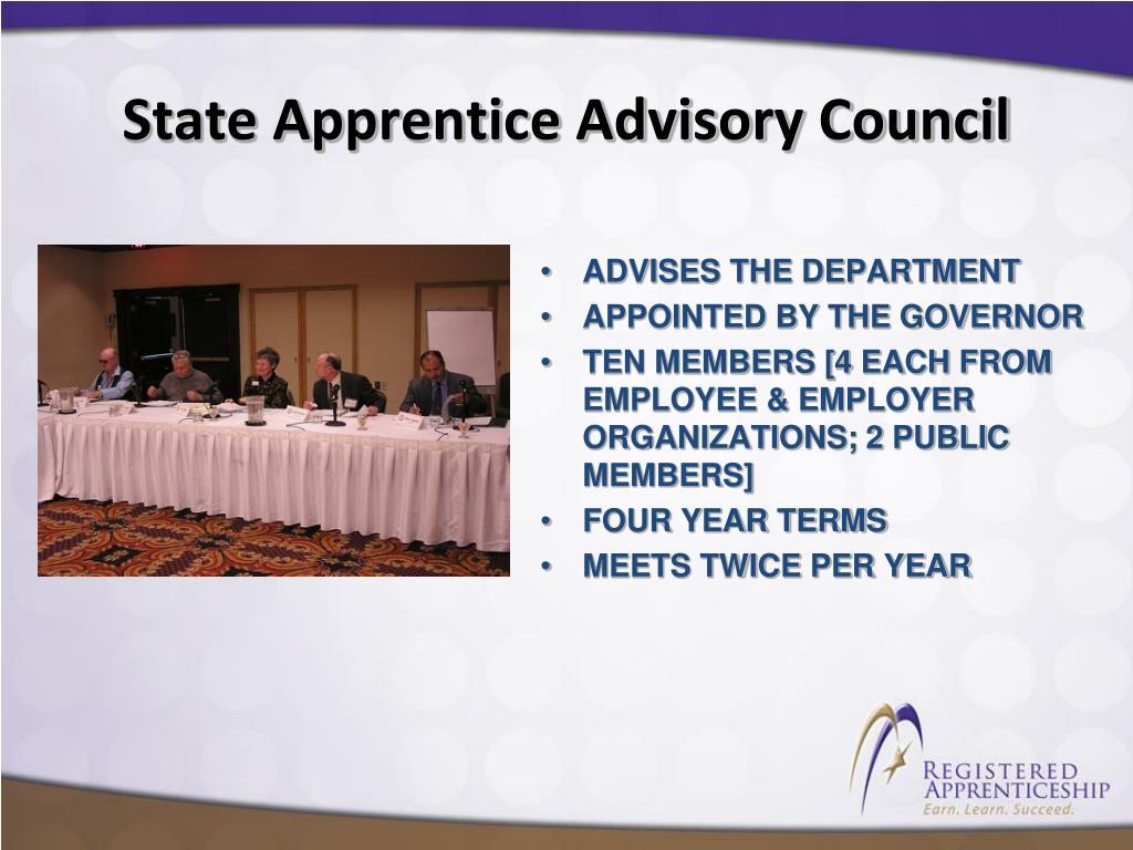 State Apprentice Advisory Council