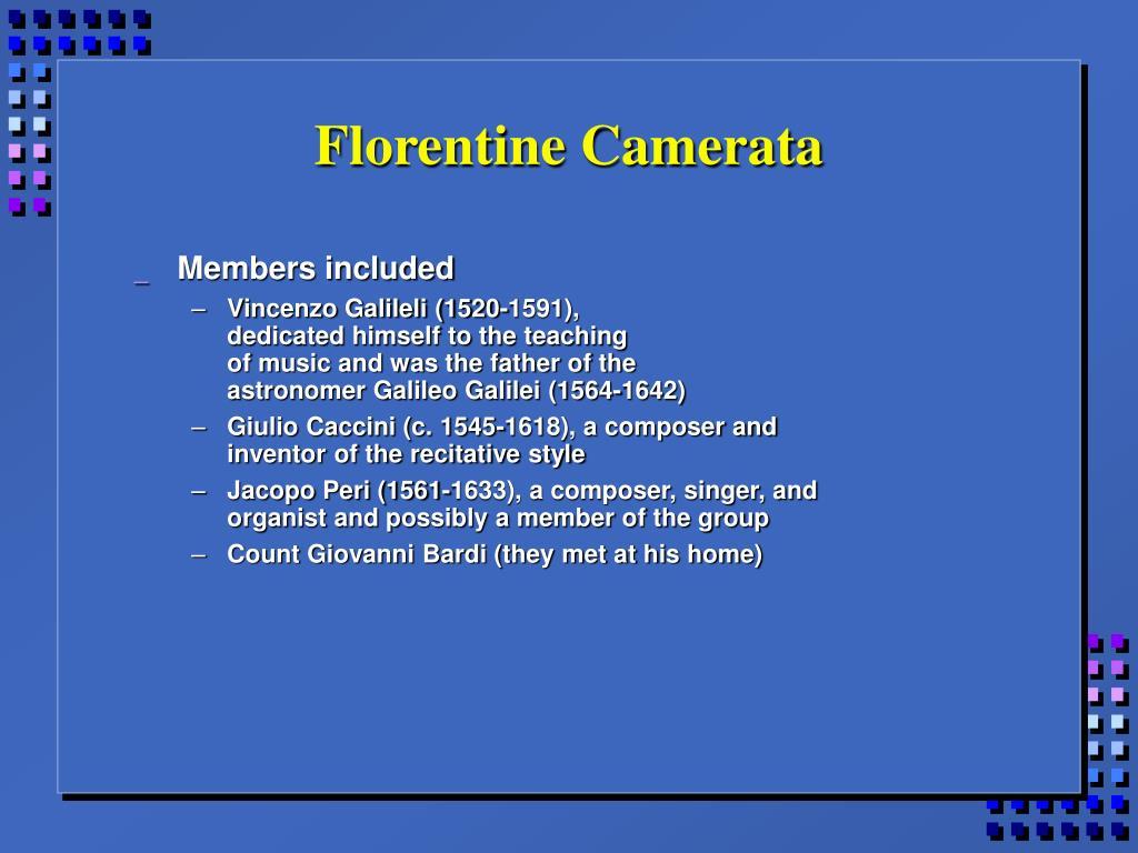 Florentine Camerata
