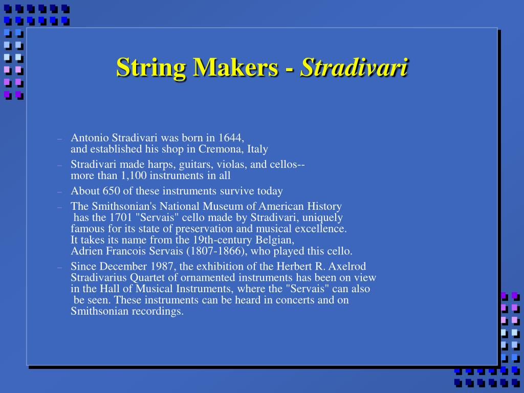 String Makers -