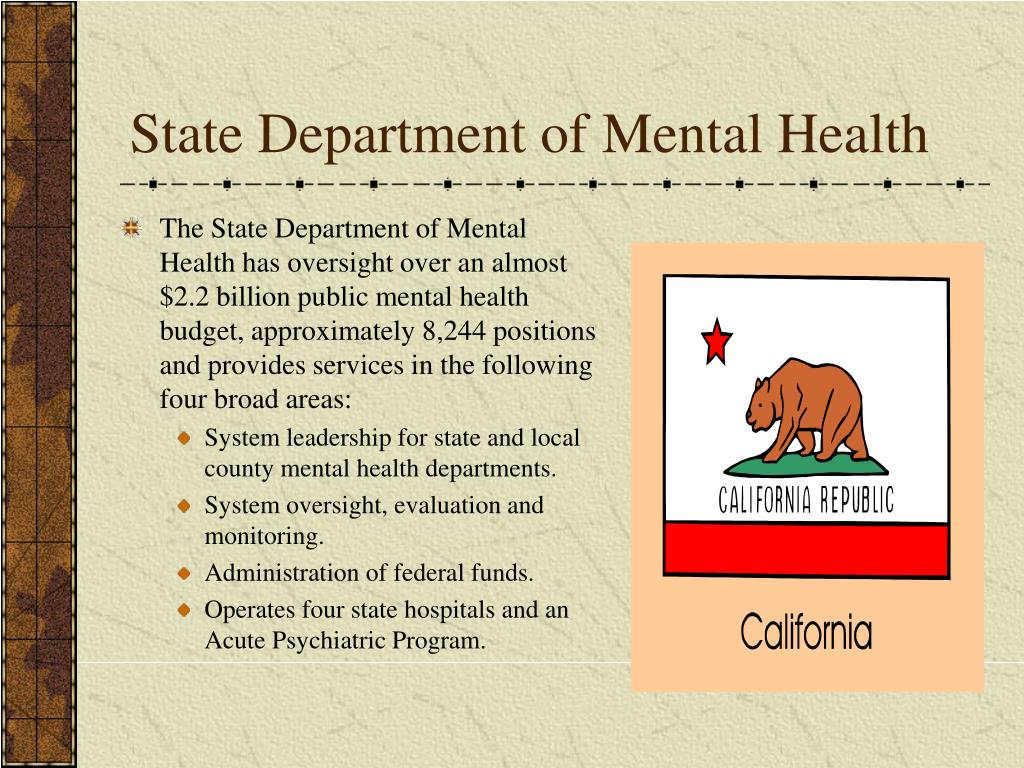 State Department of Mental Health