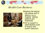 health care business