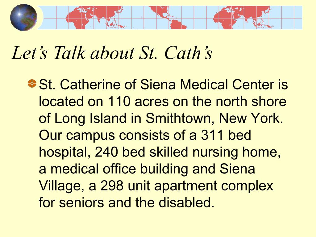 Let's Talk about St. Cath's