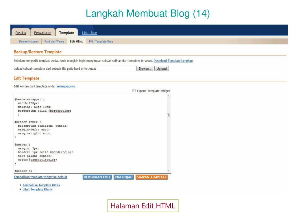 Langkah Membuat Blog (14)