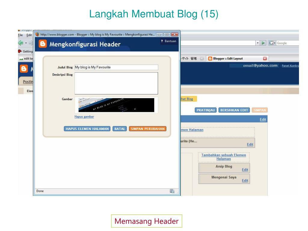 Langkah Membuat Blog (15)