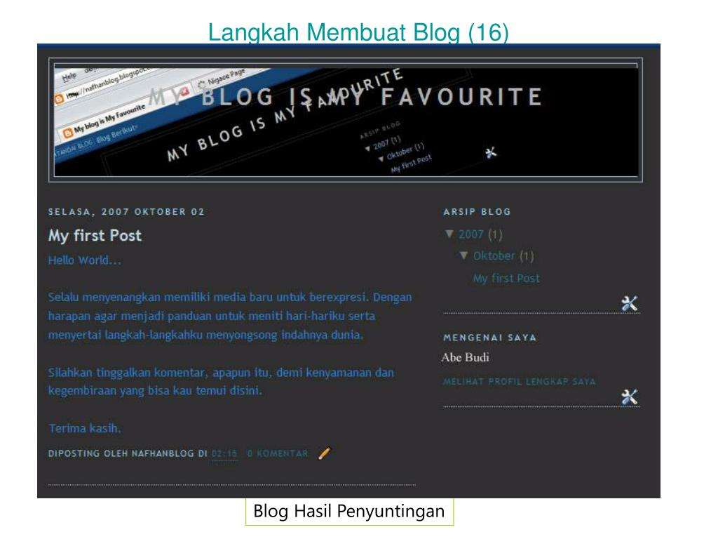 Langkah Membuat Blog (16)