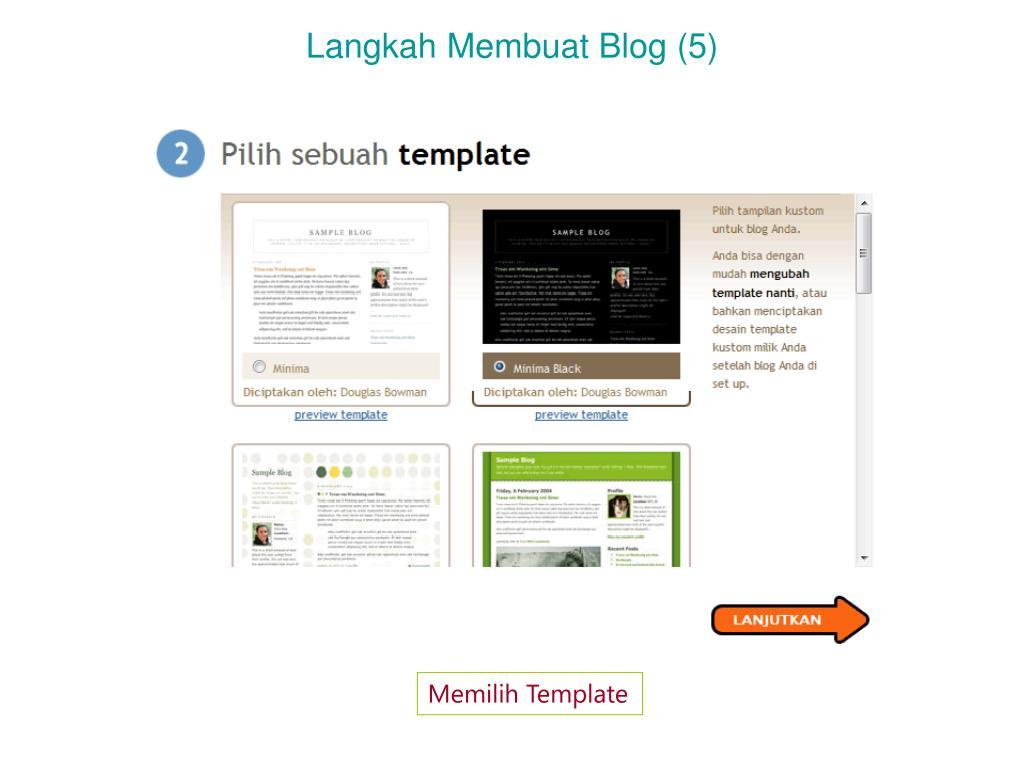 Langkah Membuat Blog (5)