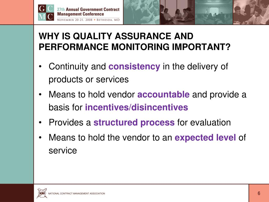 Why is Quality Assurance and Performance Monitoring Important?