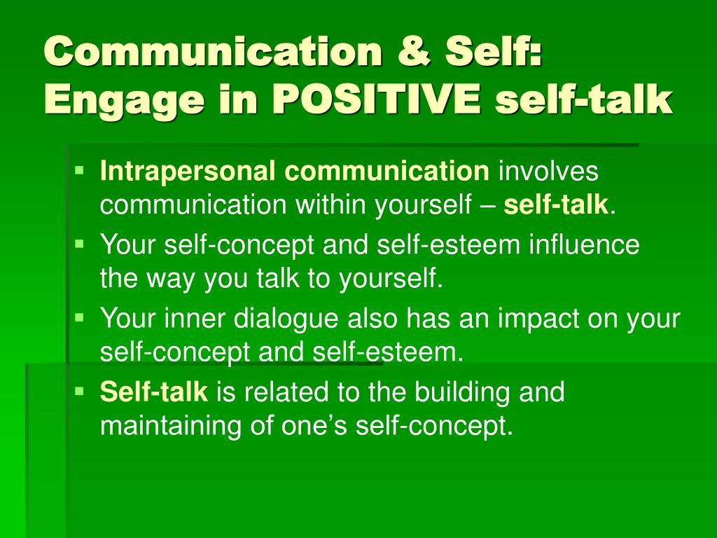 Communication & Self: