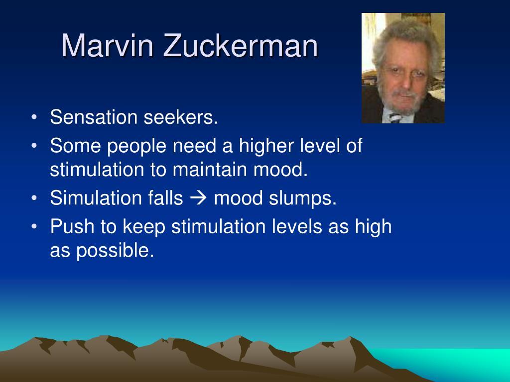 Marvin Zuckerman