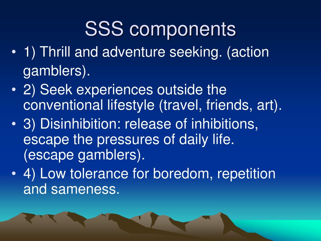 SSS components