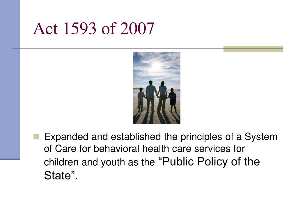 Act 1593 of 2007