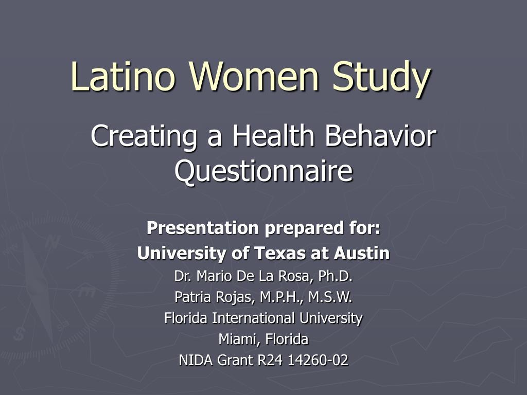 Latino Women Study