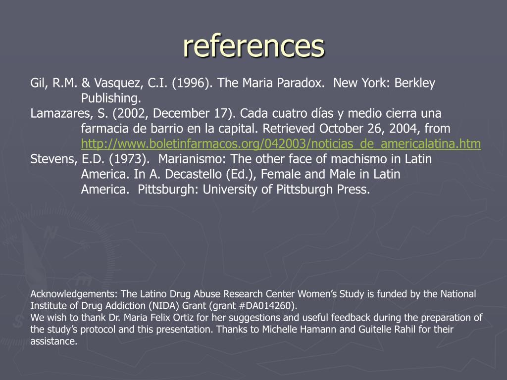 Gil, R.M. & Vasquez, C.I. (1996).