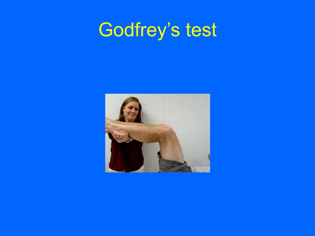 Godfrey's test