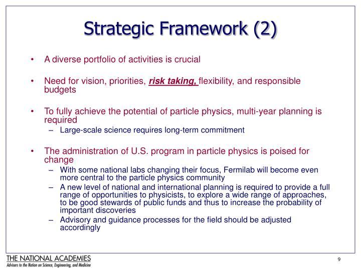 Strategic Framework (2)