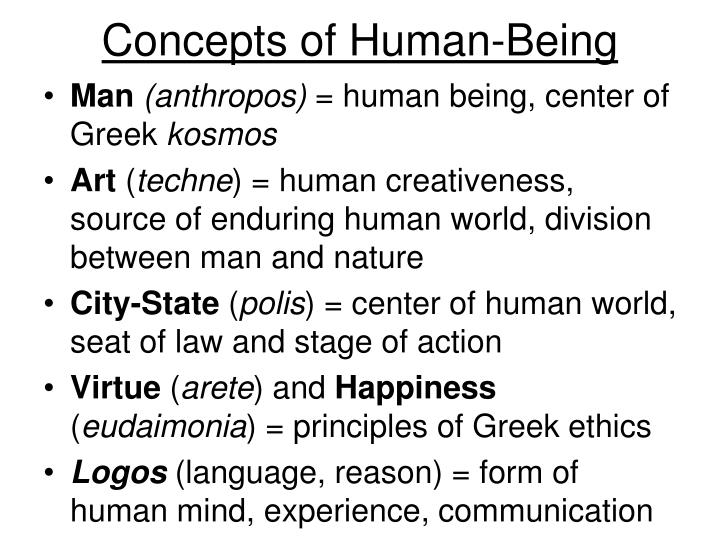 Concepts of Human-Being