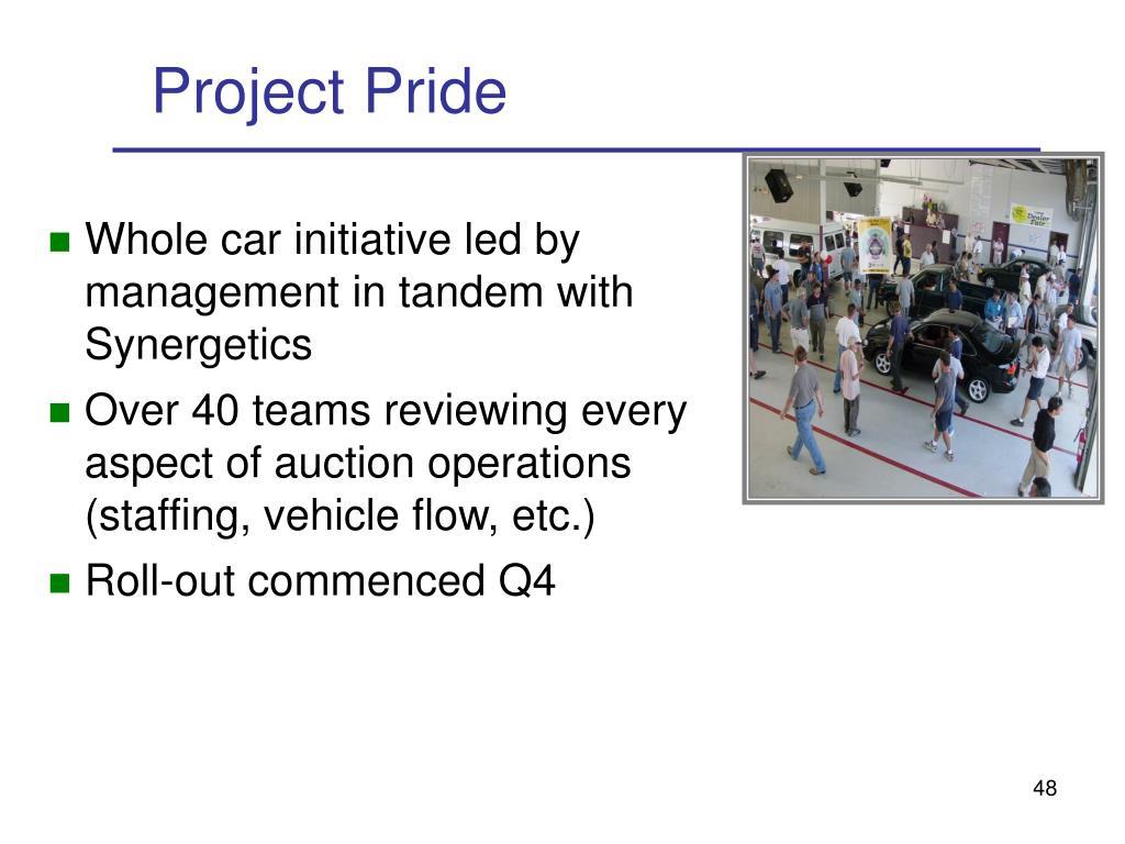 Project Pride