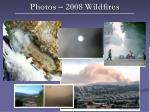 photos 2008 wildfires