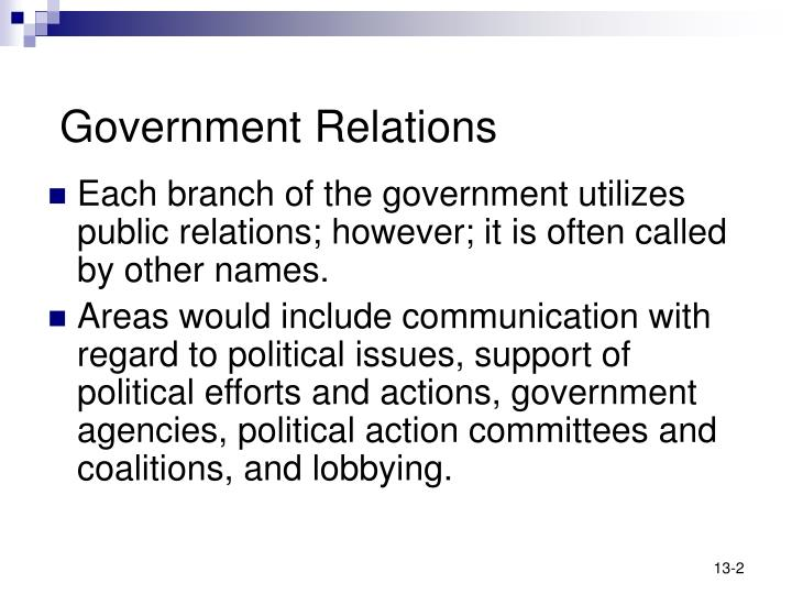 Government relations2