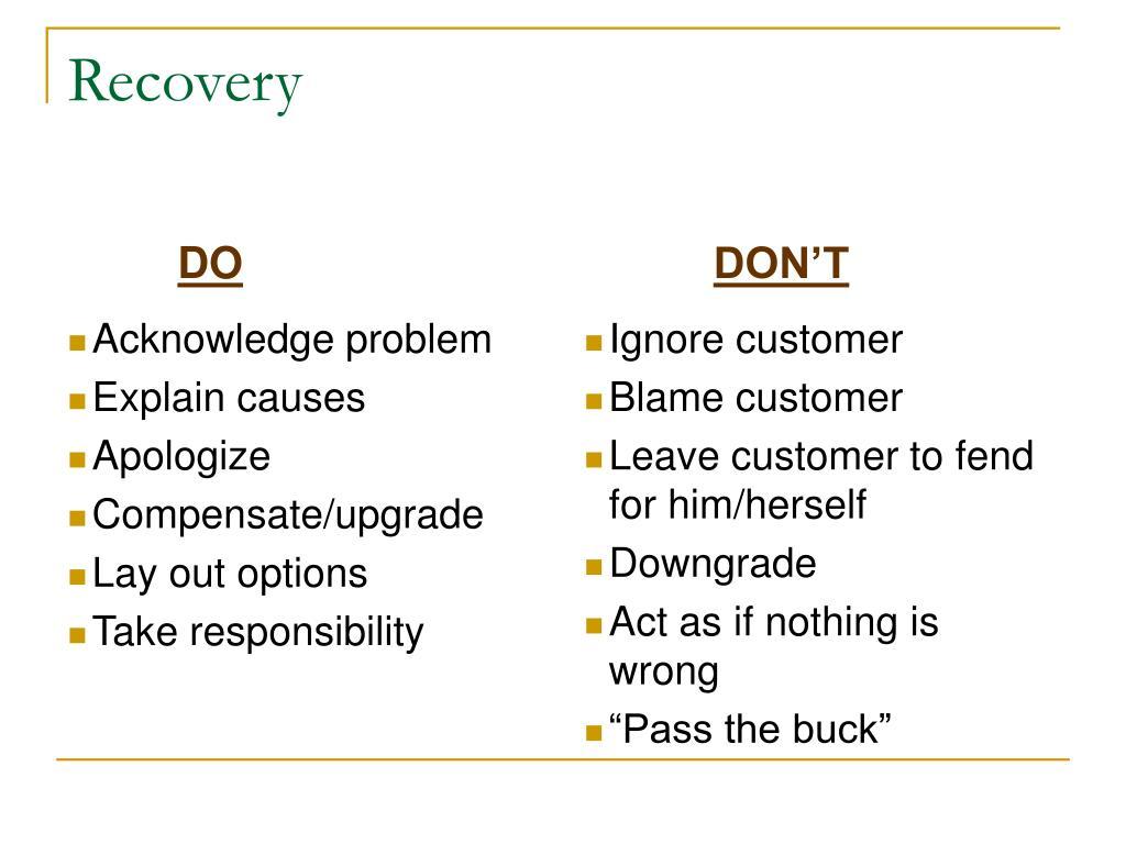 Acknowledge problem