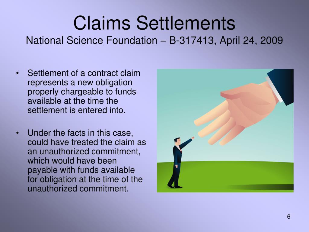 Claims Settlements