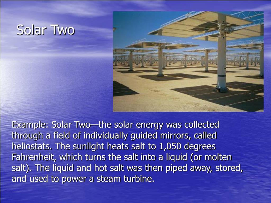 Solar Two