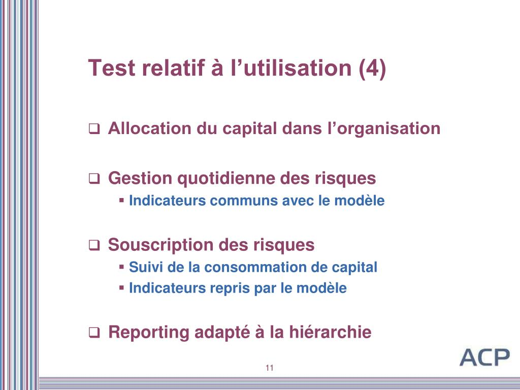 Test relatif à l'utilisation (4)