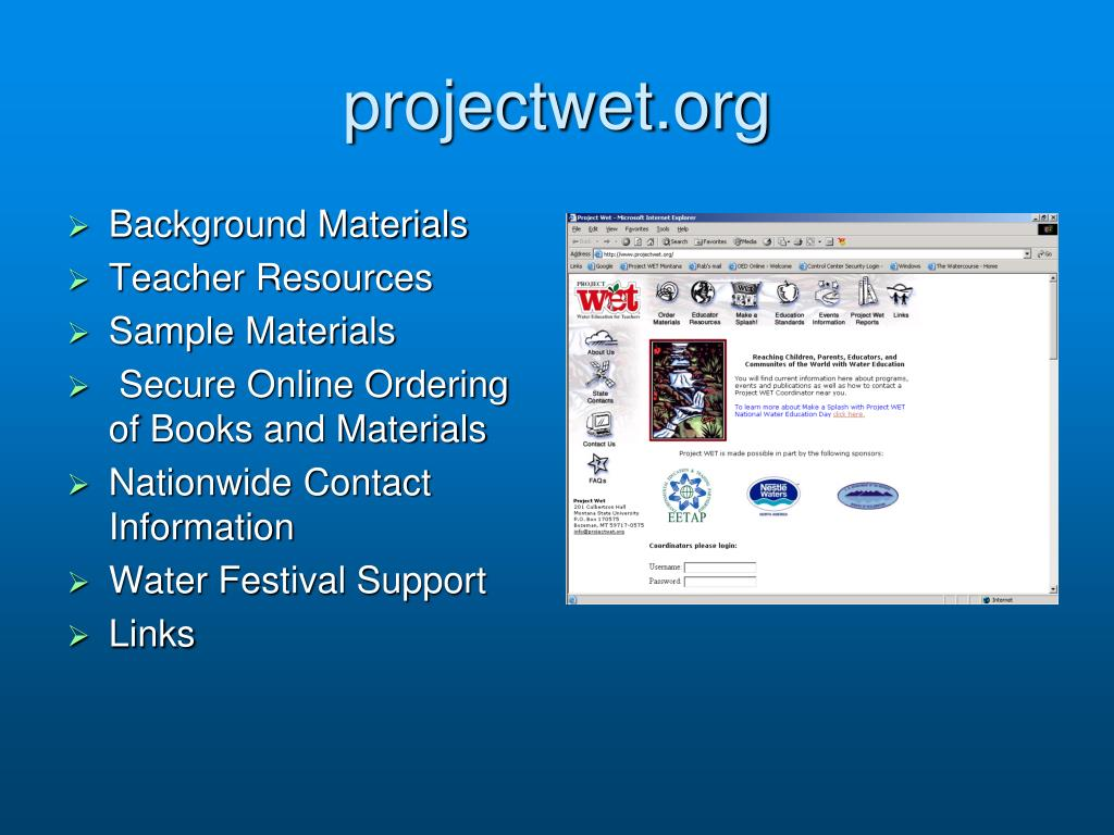 projectwet.org