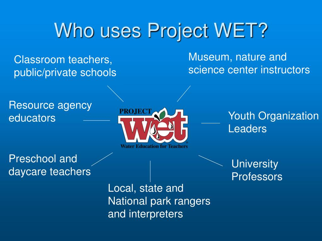 Who uses Project WET?