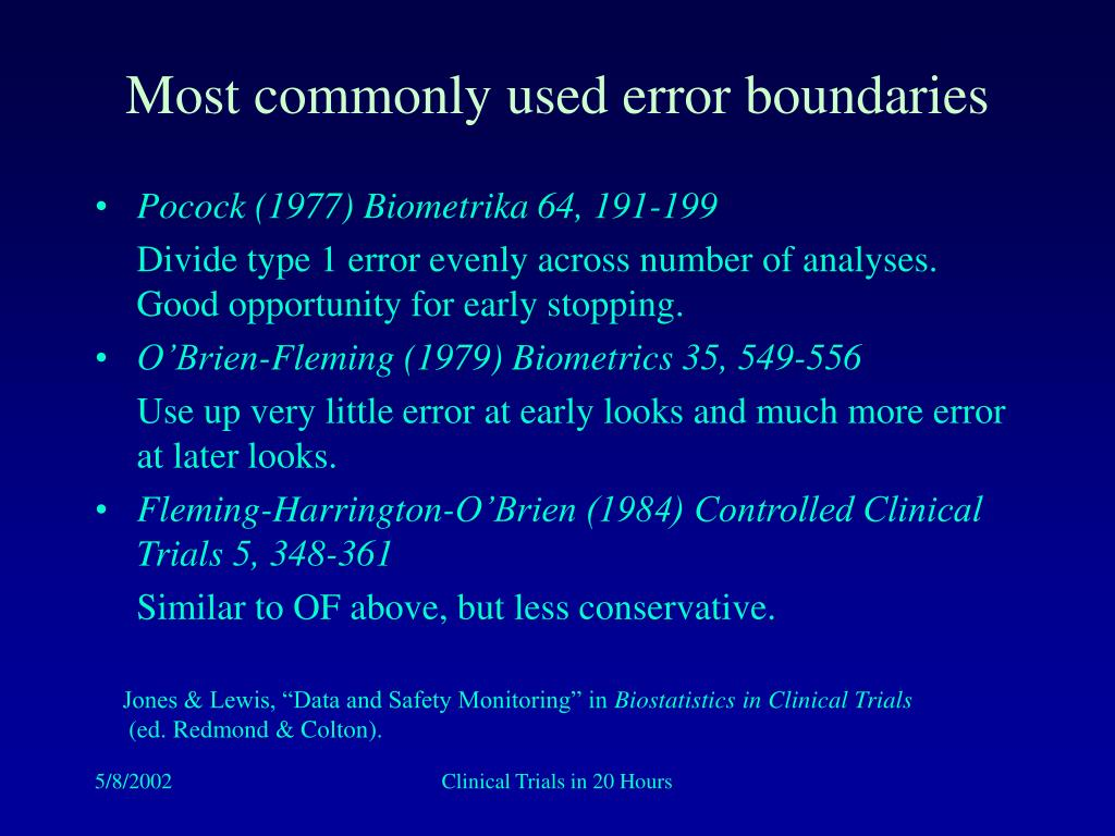 Most commonly used error boundaries