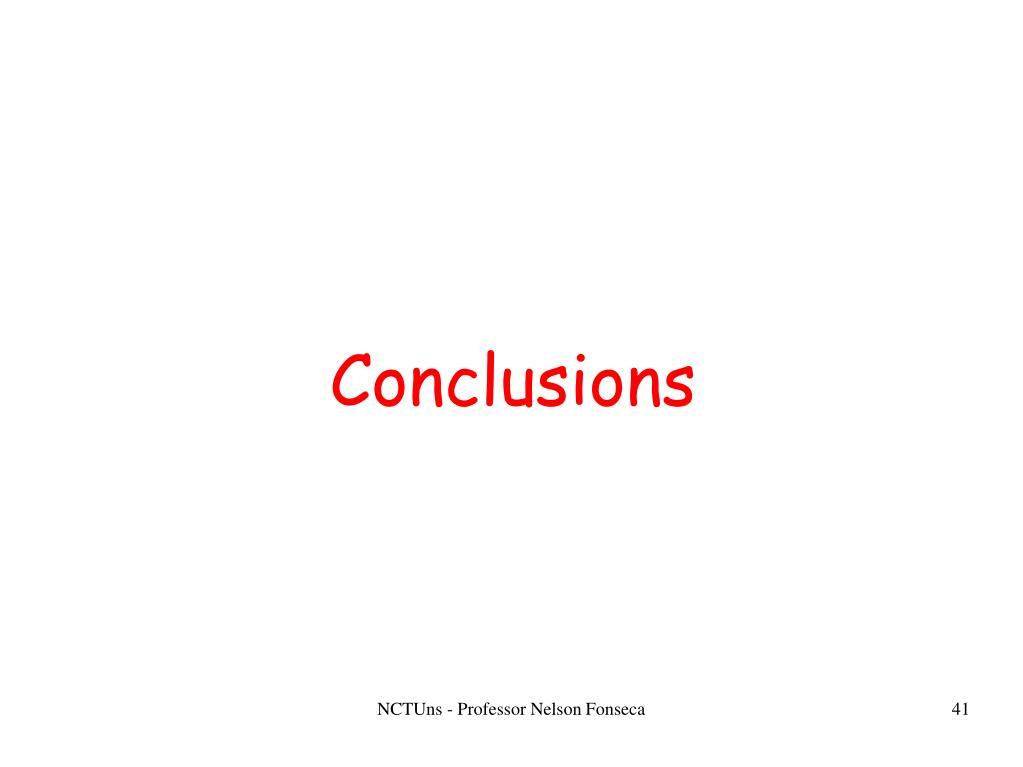 NCTUns - Professor Nelson Fonseca