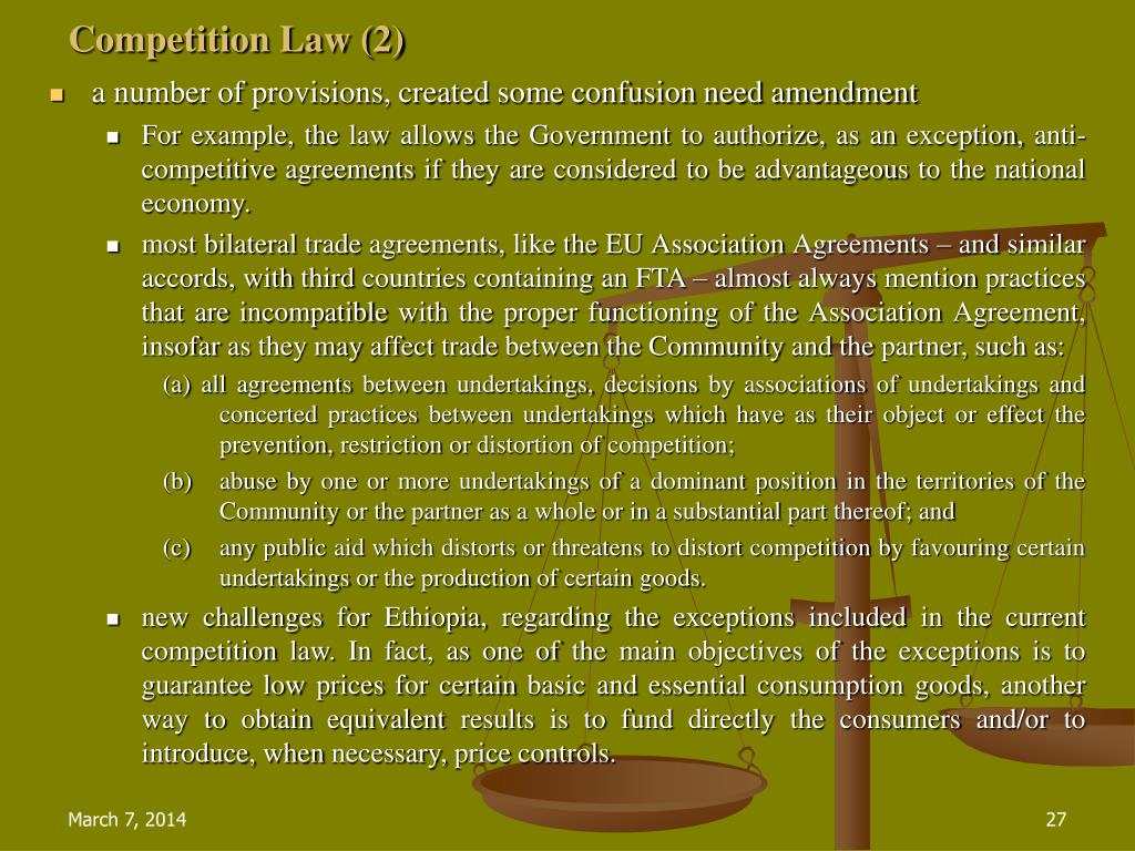 Competition Law (2)