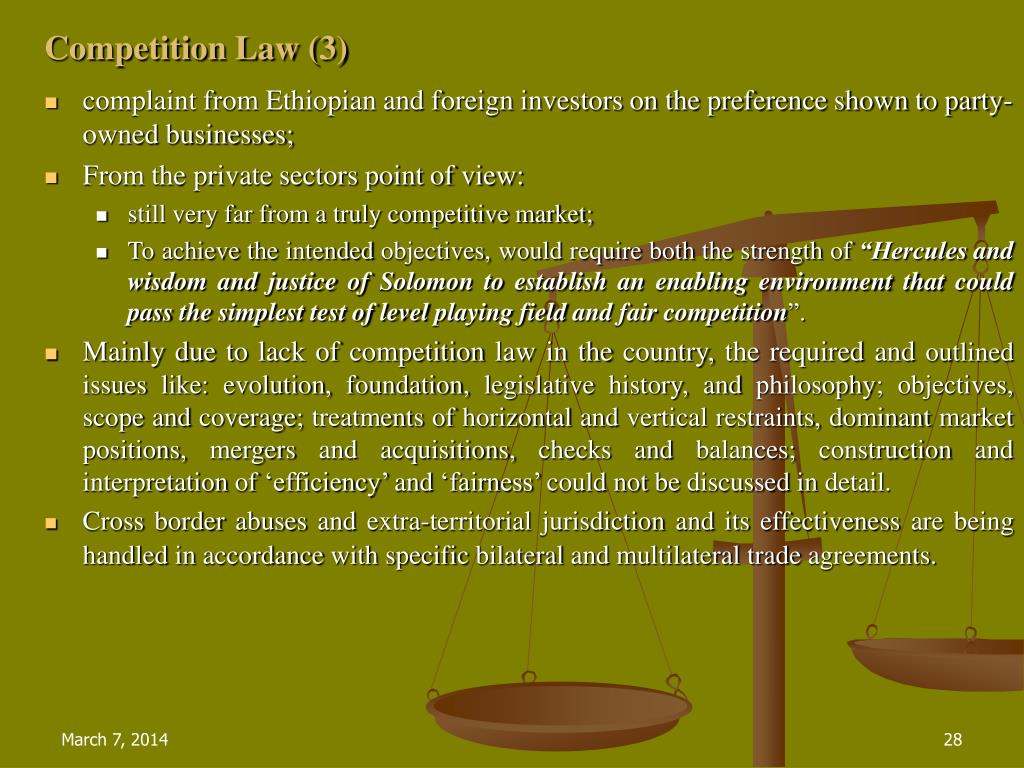 Competition Law (3)
