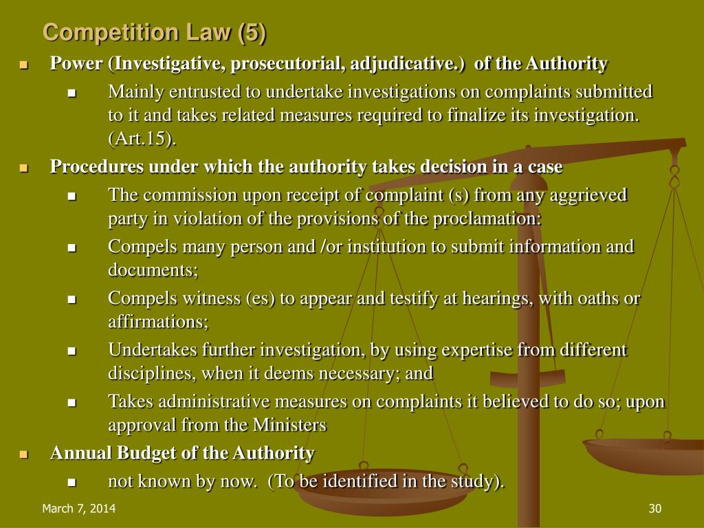 Competition Law (5)