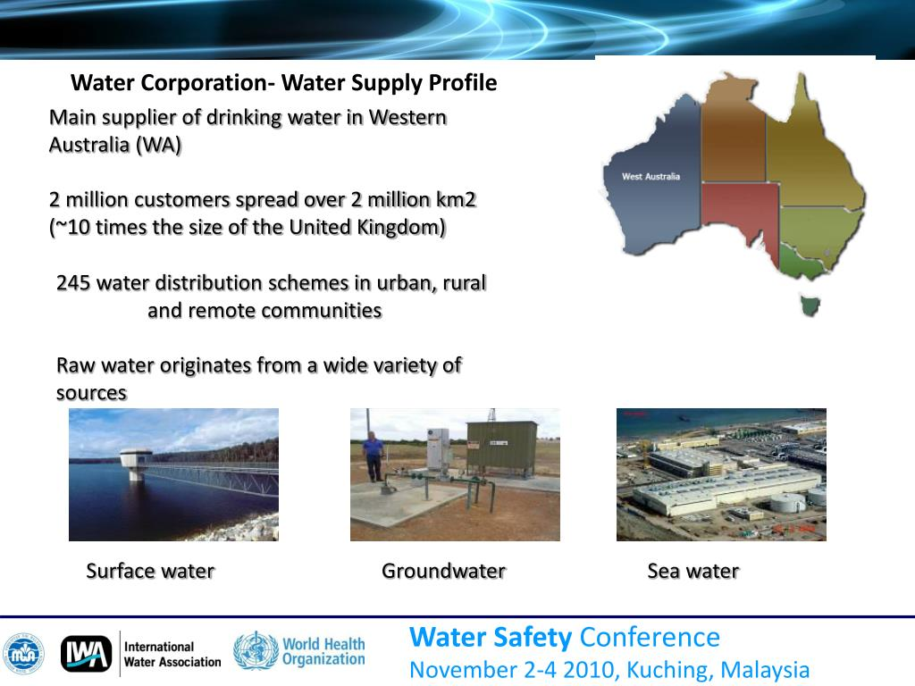 Water Corporation- Water Supply Profile
