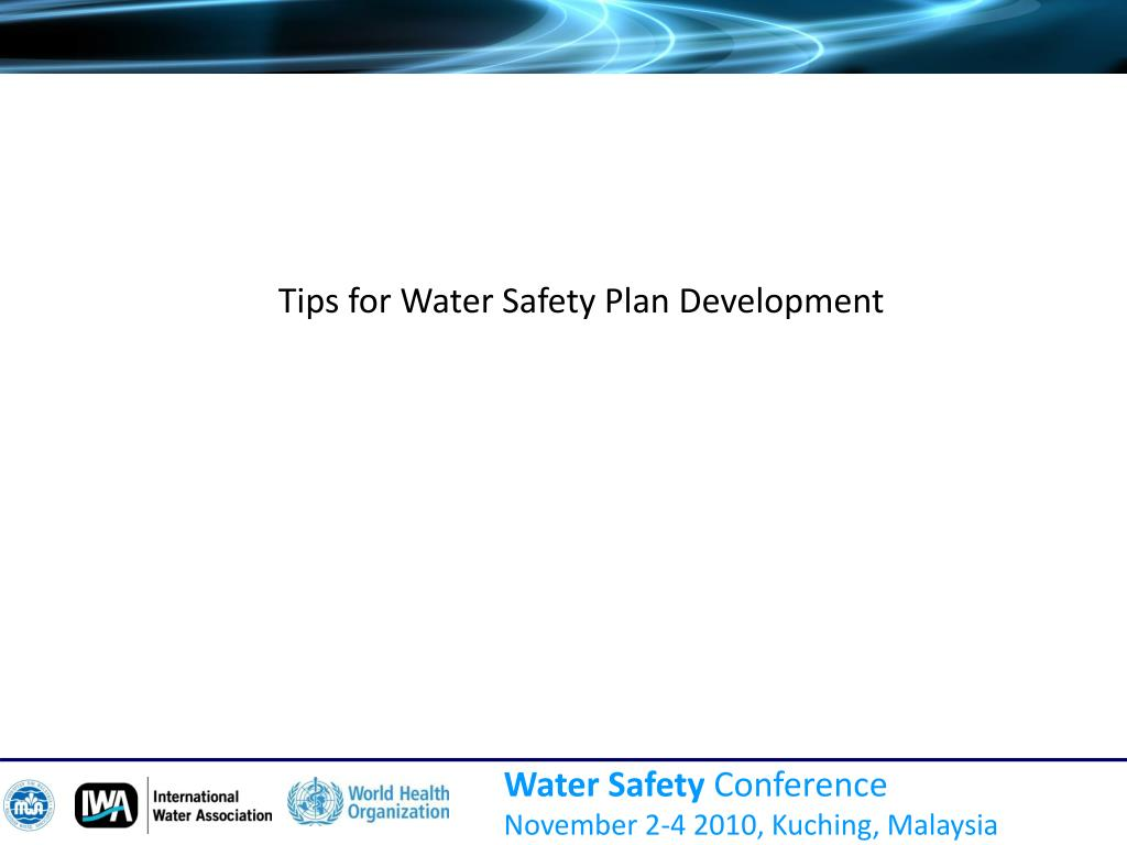 Tips for Water Safety Plan Development