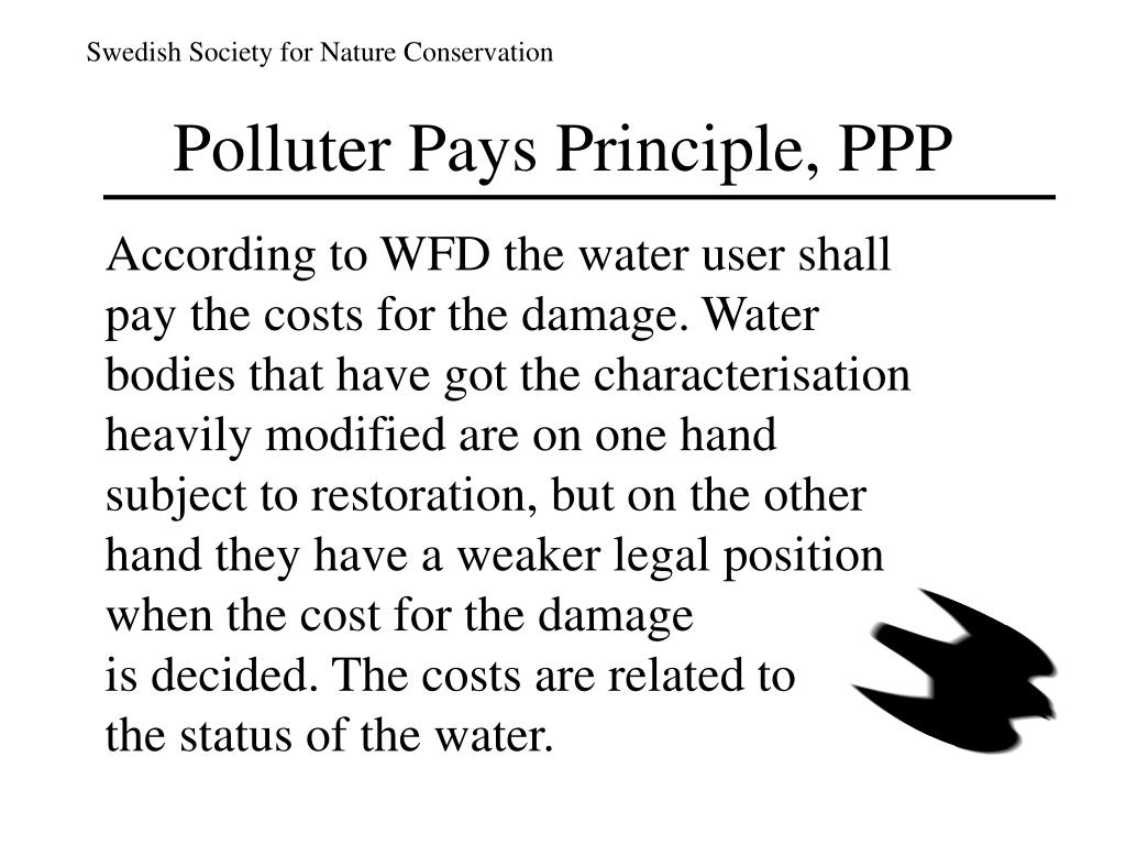 Polluter Pays Principle, PPP