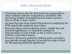 false discovery rate16