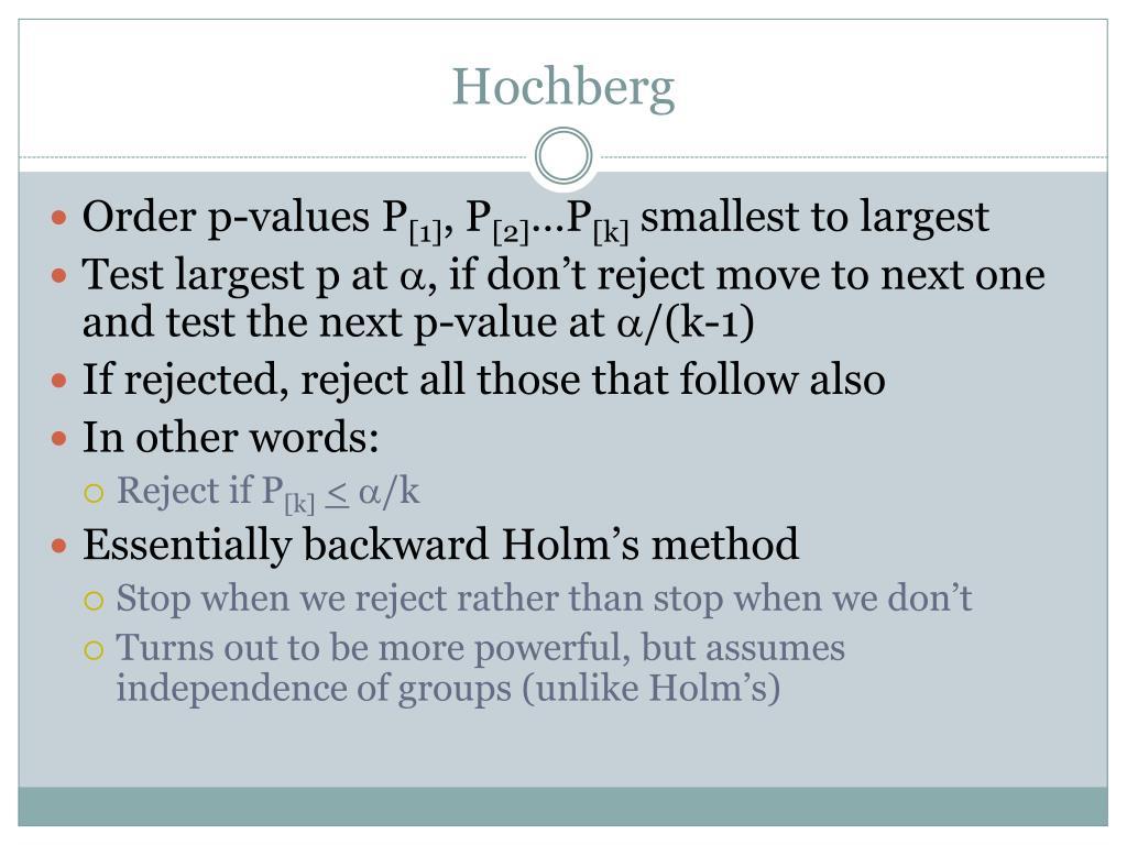 Hochberg